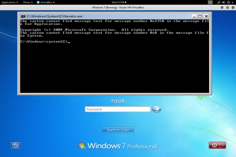 Windows Backdoor Logon Hexpert