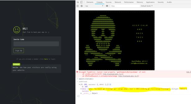 Hackthebox registration (super easy) – HEXpert